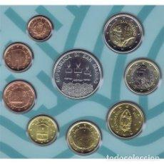 Euros: CARTERA DE EUROS DE SAN MARINO DE 2017. EURO SET. EMISIÓN OFICIAL. Lote 222353083