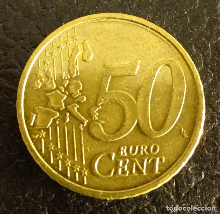 Euros: ALEMANIA 50 CÉNTIMOS DE EURO 2002 F - Foto 2 - 222669725