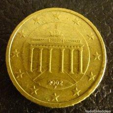 Euros: ALEMANIA 50 CÉNTIMOS DE EURO 2002 F. Lote 222669725