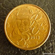 Euros: FRANCIA 5 CÉNTIMOS DE EURO 2018. Lote 222670386