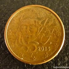 Euros: FRANCIA 5 CÉNTIMOS DE EURO 2015. Lote 222670621