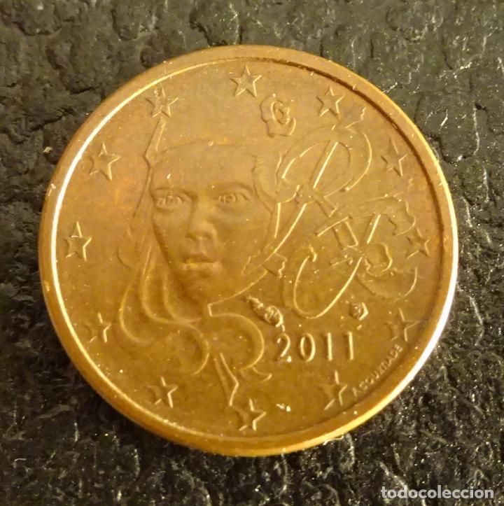 FRANCIA 1 CÉNTIMO DE EURO 2011 (Numismática - España Modernas y Contemporáneas - Ecus y Euros)