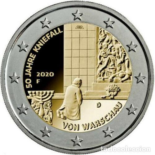 ALEMANIA 2020 2€ 50 ANIVERSARIO DE LA GENUFLEXIÓN DE VARSOVIA (Numismática - España Modernas y Contemporáneas - Ecus y Euros)