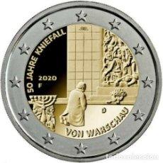 Euros: ALEMANIA 2020 2€ 50 ANIVERSARIO DE LA GENUFLEXIÓN DE VARSOVIA. Lote 222955153