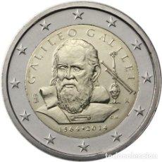 Euros: 2 EUROS CONMEMORATIVA ITALIA 2014 GALILEO SC. Lote 269950758