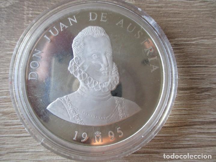 5 ECU 1995 ESPAÑA. PLATA DE LEY 925.- GRAMOS 33,62.- JUAN DE AUSTRIA (PROOF) (Numismática - España Modernas y Contemporáneas - Ecus y Euros)