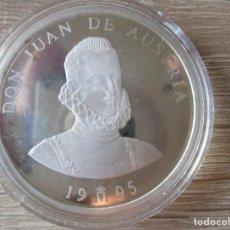 Euros: 5 ECU 1995 ESPAÑA. PLATA DE LEY 925.- GRAMOS 33,62.- JUAN DE AUSTRIA (PROOF). Lote 225403795