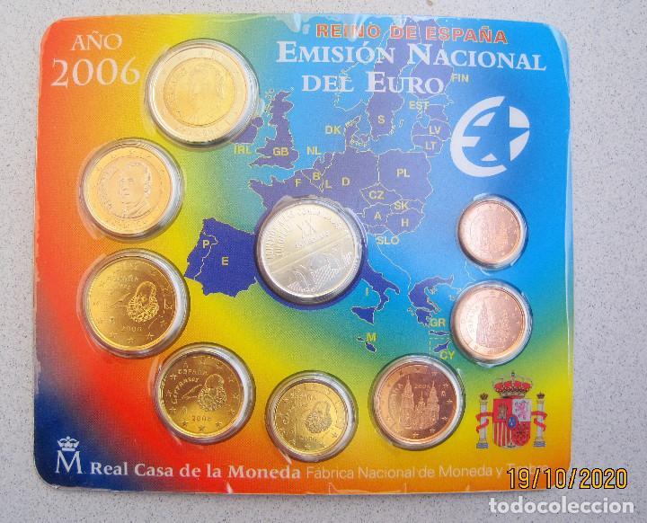 CARTERA EUROS ESPAÑA FNMT AÑO 2006 .. (Numismática - España Modernas y Contemporáneas - Ecus y Euros)