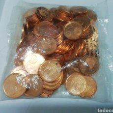 Euros: BOLSA 5 CTS 2004 ESPAÑA 100 MONEDAS. Lote 226811380