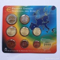 Euros: CARTERA ESPAÑA EURO SET 1999. Lote 227707350