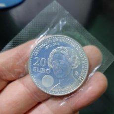 Euros: MONEDA DE 20 EUROS DEL AÑO 2011.CLARA CAMPOAMOR.DE PLATA.. Lote 269269808