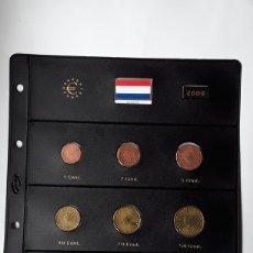 Euros: SERIE COMPLETA EUROS HOLANDA 2006. SIN CIRCULAR EN HOJA PARDO. Lote 229041462