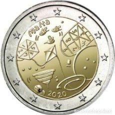 Euros: 2 EUROS CONMEMORATIVA MALTA 2020 NIÑOS Y JUEGOS SC. Lote 230599345