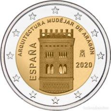 Euros: ESPAÑA 2 EUROS 2020 ARQUITECTURA MUDÉJAR DE ARAGÓN. Lote 232672605