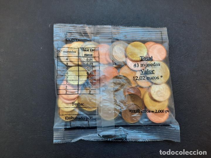 Euros: MONEDERO EUROS DE ESPAÑA.43 MONEDAS.12,02 EUROS.NUEVO SIN ABRIR. - Foto 2 - 233004435
