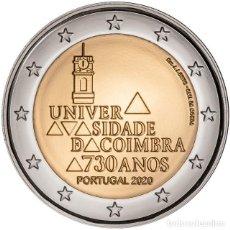 Euros: PORTUGAL 2 EUROS 2020 730 ANIVERSARIO DE LA UNIVERSIDAD DE COÍMBRA. Lote 248416575