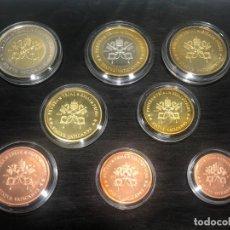 Euros: PRUEBAS DE EURO DE LA CIUDAD DEL VATICANO - 2005 - SEDE VACANTE - SPECIMEN. Lote 234178665