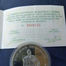 Euros: 5 ECU. DE PLATA CON SU CERTIFICADO DE GARANTÍA. PRECIOSA MONEDA. Lote 234275325