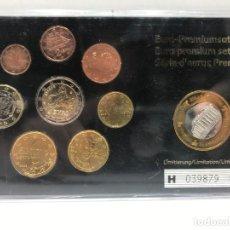Euros: SET DE EUROS DE GRECIA EN BLISTER CON MONEDA CONMEMORATIVA - VARIOS AÑOS. Lote 234306640