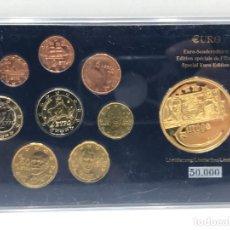 Euros: SET DE EUROS DE GRECIA EN BLISTER CON MONEDA CONMEMORATIVA - 2008. Lote 234306800