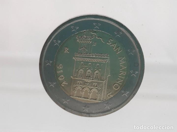 SAN MARINO 2 EUROS 2016 - SIN CIRCULAR - (Numismática - España Modernas y Contemporáneas - Ecus y Euros)