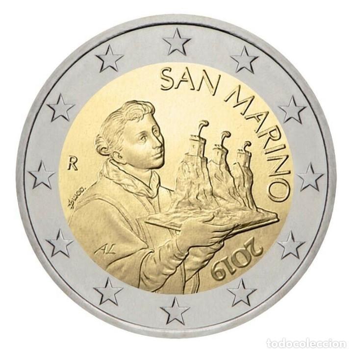 SAN MARINO 2 EUROS 2019 - SIN CIRCULAR - (Numismática - España Modernas y Contemporáneas - Ecus y Euros)