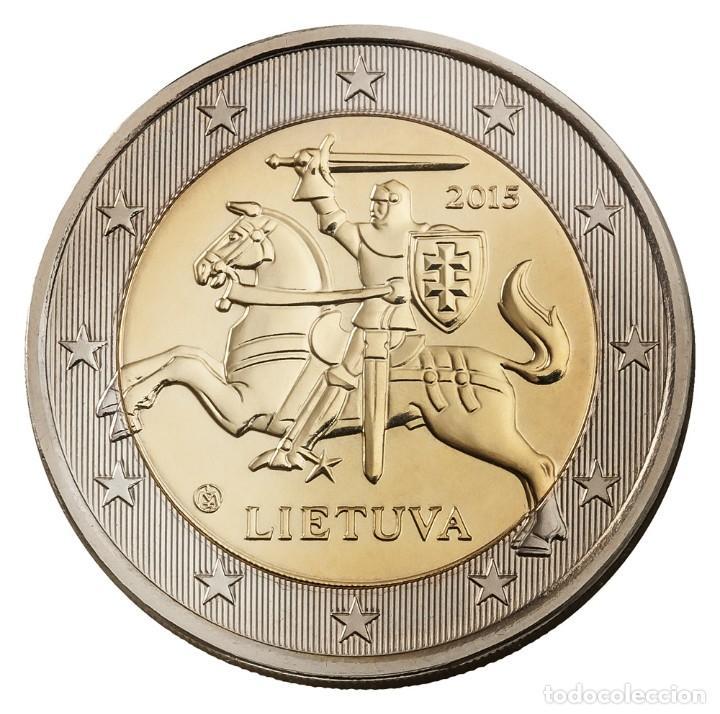LITUANIA 2 EUROS 2015 - SIN CIRCULAR (Numismática - España Modernas y Contemporáneas - Ecus y Euros)