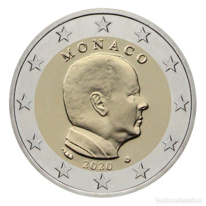 2 EURO MONACO 2020 PRINCIPE ALBERTO (Numismática - España Modernas y Contemporáneas - Ecus y Euros)