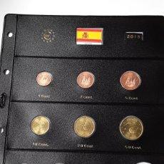 Euros: SERIE COMPLETA EUROS ESPAÑA 2013 SIN CIRCULAR EN HOJA PARDO (9 MONEDAS). Lote 234342260