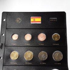 Euros: SERIE COMPLETA EUROS ESPAÑA 2012 SIN CIRCULAR EN HOJA PARDO (10 MONEDAS). Lote 235155870