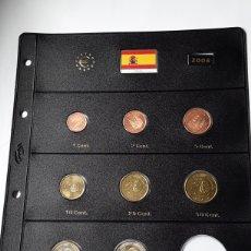 Euros: SERIE COMPLETA EUROS ESPAÑA 2006 SIN CIRCULAR EN HOJA PARDO (8 MONEDAS). Lote 235158355