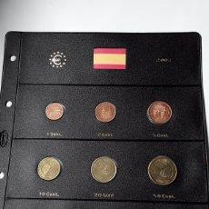 Euros: SERIE COMPLETA EUROS ESPAÑA 2003 SIN CIRCULAR EN HOJA PARDO (8 MONEDAS). Lote 235159125