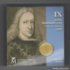 Euros: JOYAS NUMISMATICAS IX- 20 EUROS-ORO-2019-PROF. Lote 235811390