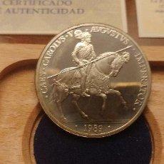 Euros: FNMT - 5 ECU -1989 - CERTIFICADO DE AUTENTICIDAD Y ESTUCHE. Lote 235833375