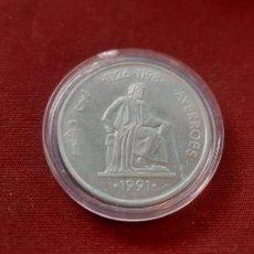 Euros: 5 ECU DE PLATA DE 1991 ENCAPSULADA. Lote 235975790
