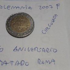 Euros: 10-00581 - ALEMANIA-2 € - 2007 F- TRATADO ROMA. Lote 236785975