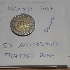 Euros: 10-00582 -IRLANDA-2 € - 2007 - TRATADO ROMA. Lote 236786195