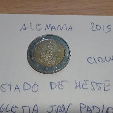 Euros: 10-00586 - ALEMANIA -2 € - 2015 G- ESTADO DE HESSE. Lote 236786765