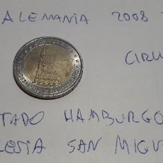 Euros: 10-00587 -ALEMANIA -2 € - 2008 J- ESTADO DE HAMBURGO. Lote 236787065