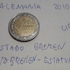 Euros: 10-00588 -ALEMANIA -2 € - 2010 D- ESTADO DE BREMEN. Lote 236787225