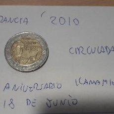 Euros: 10-00592 - FRANCIA -2 € - 2010 - 70 ANIV LLAMAMIENTO 18 JUNIO. Lote 236788020
