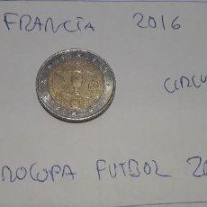 Euros: 10-00602 - FRANCIA -2 € - 2016 - EUROCOPA DE FUTBOL. Lote 236789655