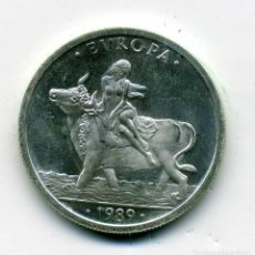Euros: 1 ECU AÑO 1989 FDC PLATA. Lote 238183185