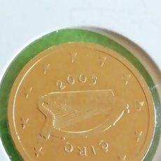 Euros: 2 CÉNTIMOS DE EURO DE GRECIA BAÑADO BAÑADO EN ORO DE 24 KILATES. 2005. ADJUNTO PEDIDOS. Lote 239616345