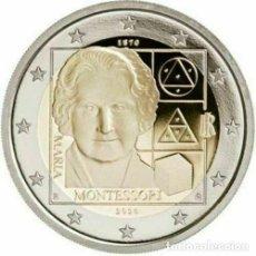 Euros: 2 EUROS ITALIA 2020 MONTESSORI. Lote 289345358