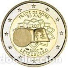 Euros: LUXEMBURGO 2007 2 EUROS TRATADO DE ROMA. S/C. Lote 279410673