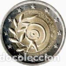 Euros: GRECIA 2011. 2 EUROS. JUEGOS OLÍMPICOS ESPECIALES MUNDIALES DE VERANO - ATENAS 2011. S/C. Lote 279374333