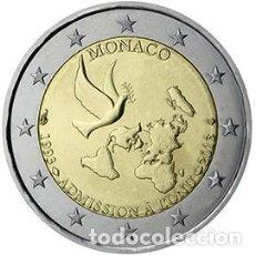 Euros: MONACO 2013. 2 EUROS. 20 ANIVERSARIO DE LA ADHESIÓN DE MÓNACO A LA ONU. S/C. Lote 241802915