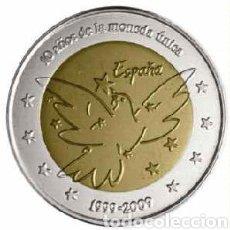 Euros: RARÍSIMA MONEDA 2 EUROS ESPAÑA 2009, PALOMA DE LA PAZ. Lote 241995305