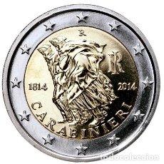 Euros: ITALIA 2014. 2 EUROS. 200º ANIVERSARIO DE LOS CARABINIERI. S/C. Lote 242206725